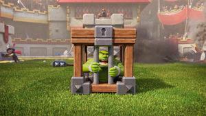 Новая карта: Goblin Cage/ Клетка с гоблином в Клеш Рояль