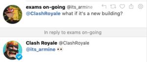 Возможно новая карта здания в Clash Royale [Sneak Peek]